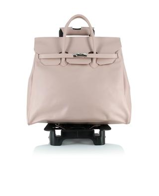 Smooth leather trolley bag LE SOLIM
