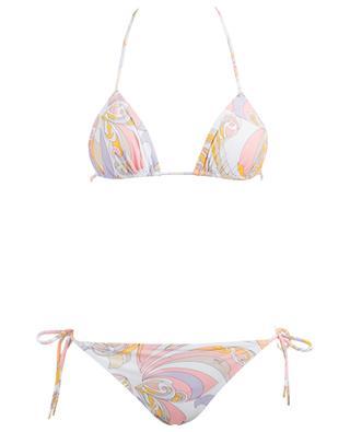 Printed triangle bikini EMILIO PUCCI