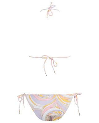 Bedruckter Triangel-Bikini EMILIO PUCCI