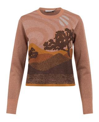 Landscape wool blend jumper COACH