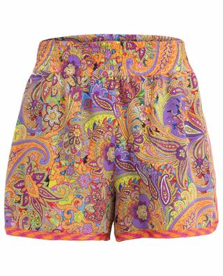 Bedruckte Shorts aus Seide ETRO