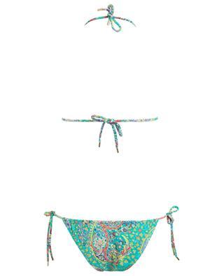 Printed triangle bikini ETRO