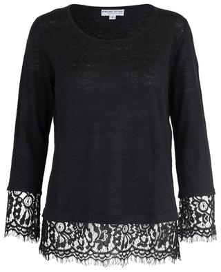 Pullover aus Leinen mit Spitze BONGENIE GRIEDER