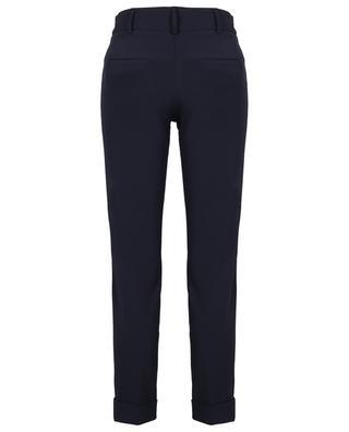 Renira cropped slim fit crepe trousers CAMBIO