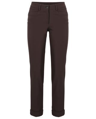 Pantalon slim raccourci en crêpe Renira CAMBIO