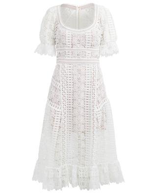 Midilanges Kleid aus Klöppelspitze SELF PORTRAIT