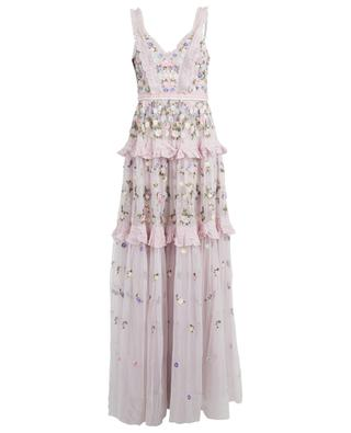 Prism Ditsy strappy maxi dress NEEDLE &THREAD