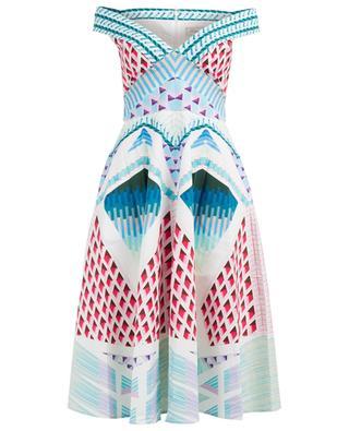 Midilanges Kleid Sun Shade TEMPERLEY LONDON
