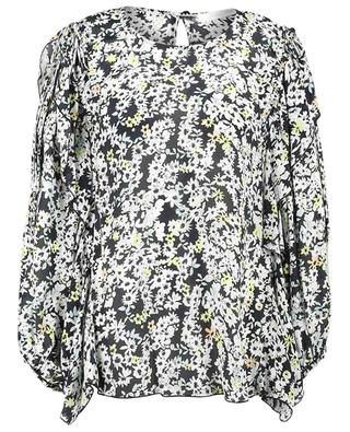 Long-sleeved floral print silk blend top SEE BY CHLOE