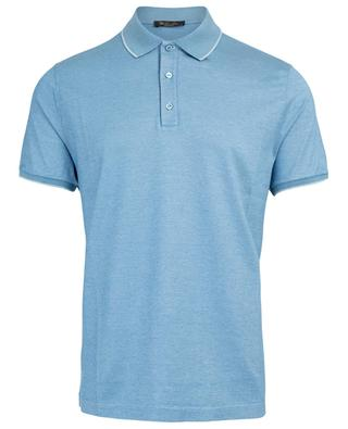 Silk and cotton polo shirt LORO PIANA