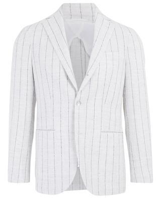 Linen blend suit BARBA
