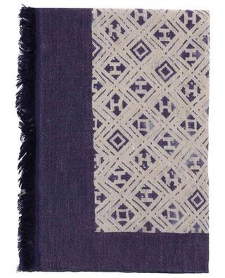 Leichter Schal aus Wolle und Leinen Nihal HEMISPHERE