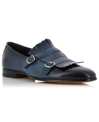 Leather derby shoes SANTONI