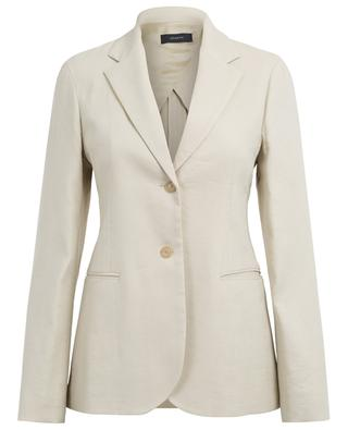 Archi long viscose and linen blend blazer JOSEPH