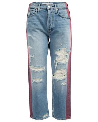 The Trasher Striped boyfriend jeans MOTHER