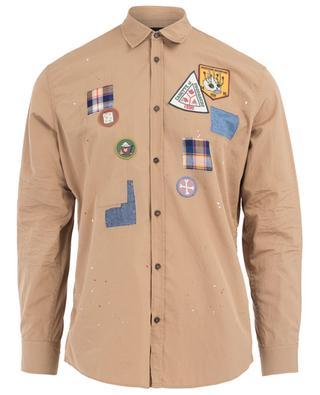 Chemise en coton Scout DSQUARED2