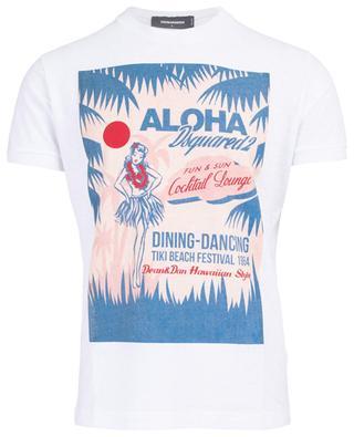 T-shirt en coton Aloha DSQUARED2