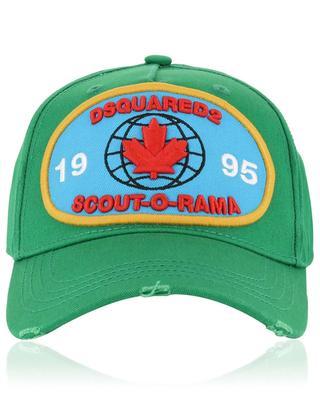 Scout-O-Rama baseball cap DSQUARED2