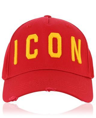 Icon distressed baseball cap DSQUARED2