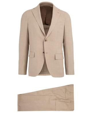 Wool, silk and linen suit CARUSO