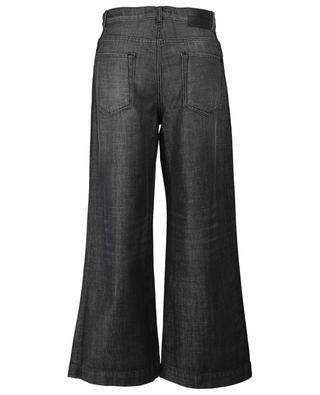 Ausgewaschene verkürzte Jeans mit weitem Bein Badesse WEEKEND MAXMARA