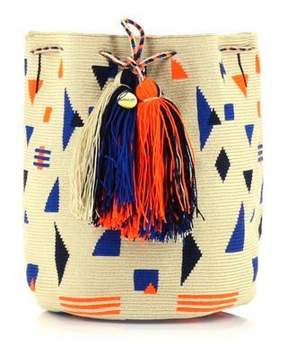 Knitted crochet shoulder bag GUANABANA HANDMADE