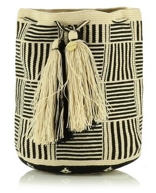Umhängetasche aus gewebtem Stoff GUANABANA HANDMADE