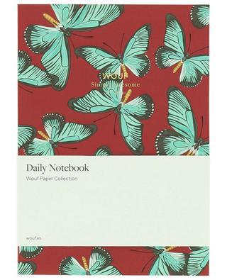 Butterfly A5 notebook WOOUF