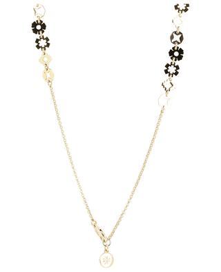 Halskette aus goldenem Messing Charm TORY BURCH