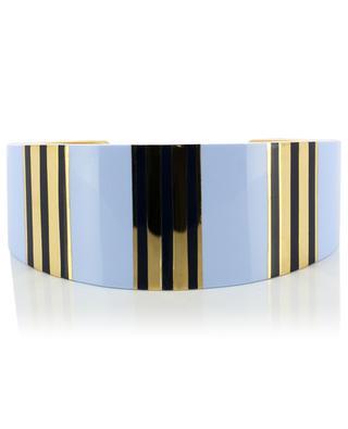 T-Stripe brass cuff TORY BURCH