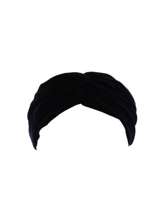 Californian velvet half-turban INDIRA DE PARIS