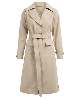 Cotton trenchcoat ERMANNO SCERVINO