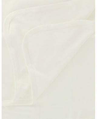 Couverture bébé en viscose et coton organique MORI