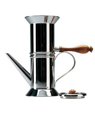 Neapolitanischer Kaffekocher aus Inox 90018 ALESSI