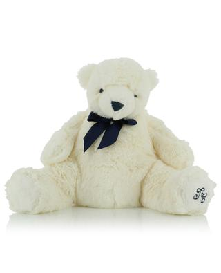 Jean the white bear soft toy TARTINE ET CHOCOLAT