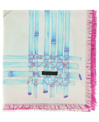 Twill Seta printed silk stole FRANCO FERRARI