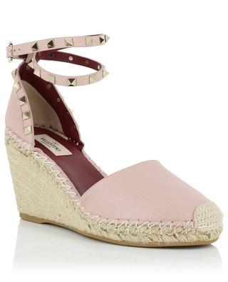 Rockstud Double wedge espadrilles VALENTINO