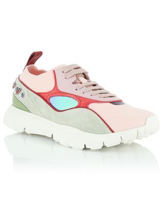 Sneakers aus Stoff und Wildleder VALENTINO