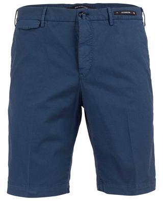 Cotton blend bermuda shorts PT01