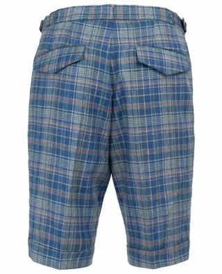 Silk and linen bermuda shorts PT01