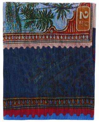 Écharpe légère en lin et soie ETRO