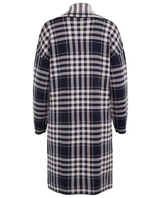 Virgin wool and cotton blend coat WINDSOR