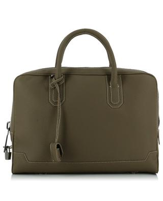 Grained leather Briefcase AIZEA