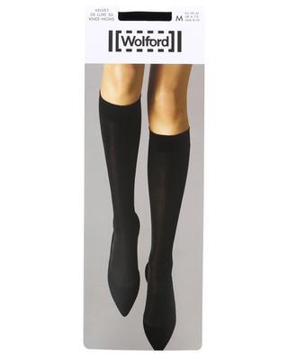 Velvet De Luxe 50 knee-hights WOLFORD