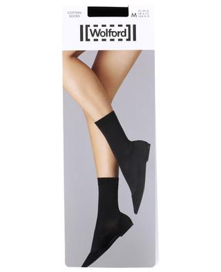 Cotton socks WOLFORD