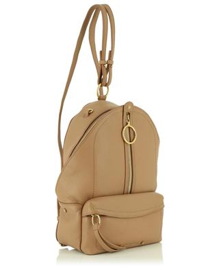 Moni grained leather backpack SEE BY CHLOE