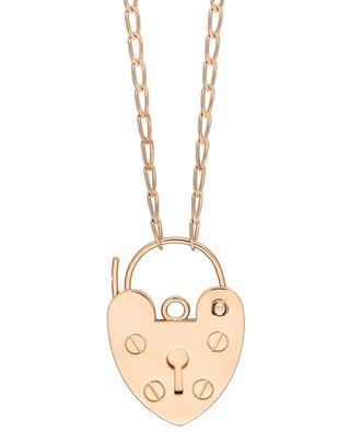 Collier en or rose avec pendentif coeur Providence GINETTE NY