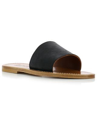 Capri leather sandals K JACQUES