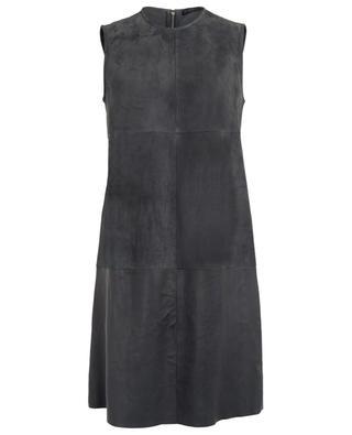 Suede sleeveless dress FABIANA FILIPPI