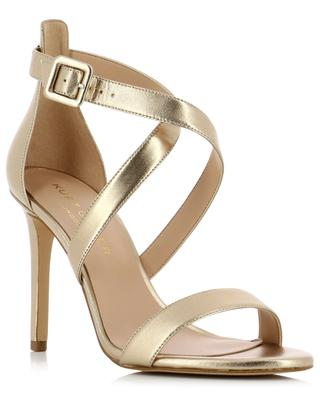 Knightsbridge metallic leather sandals KURT GEIGER LONDON